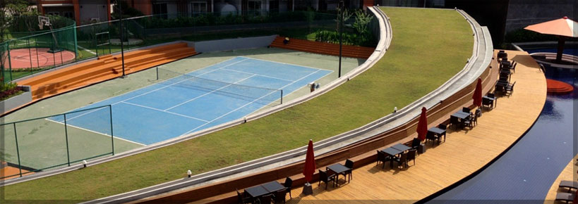 Tennis court | Pause On Samui | Thailand | Holiday Homes for rent from owner