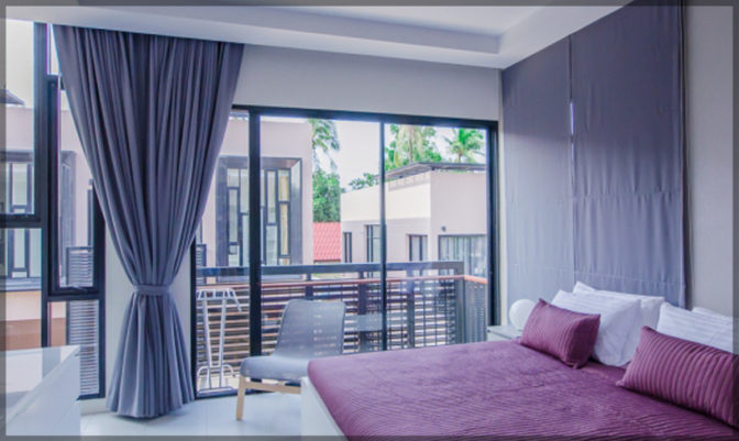 Master bedroom  Pause On Samui   Thailand   Holiday Homes for rent from owner