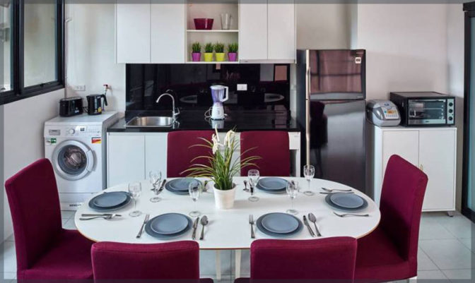 Kitchen   Pause On Samui   Thailand   Holiday Homes for rent from owner